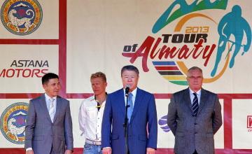 Казахстанский велогонщик стал победителем «Тура Алматы»