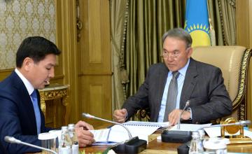 Kazakh President receives Transport Minister