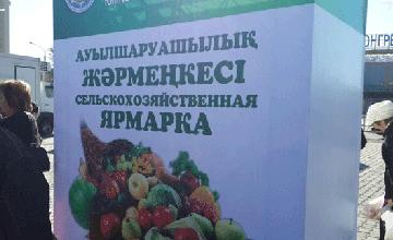 Ярмарка Мангыстауской и Актюбинской областей - последняя ярмарка сельхозпроизводителей регионов в этом году - С. Есилов