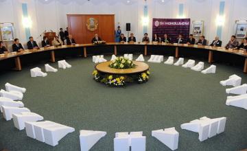 В столице состоялась церемония награждения Знаком почета «Тіл жанашыры»