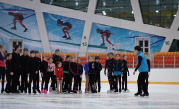 Kazakh skater Denis Ten visited SOS Children's Village in Astana