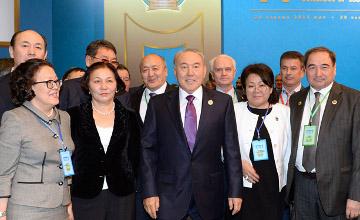 В Астане начался VI Съезд судей Казахстана с участием Президента РК Н.А.Назарбаева