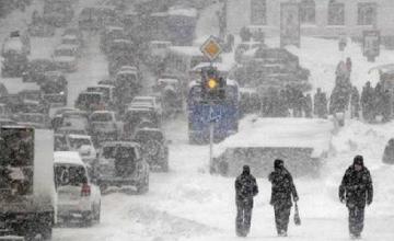 Штормовое предупреждение объявлено в Атырау