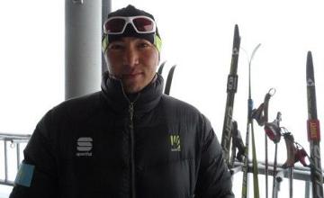 Skier Erdos Akhmadiyev will bear Kazakhstan's Flag in Sochi