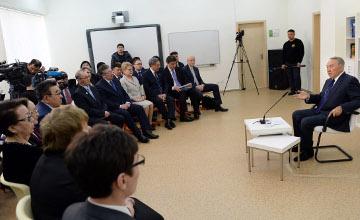 Н.Назарбаев: Казахстан может быть переименован в Қазақ елі