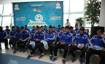 ФК «Астана» презентовал новый состав, форму и логотип (ФОТО)