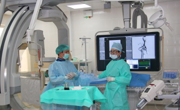 Алматыдағы №7 емханаға жүректің туа біткен ақауын емдейтін медициналық техника жеткізілді