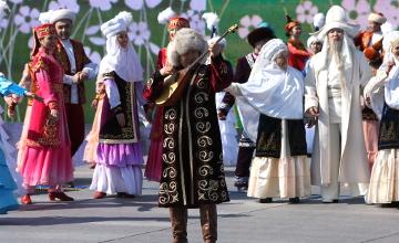 Астана широко отмечает Наурыз мейрамы (ВИДЕО)