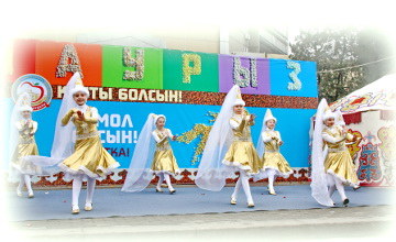 Алматы жұртшылығы ауа райының қолайсыздығына қарамастан Ұлыстың ұлы күнін ұлықтауда