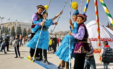Алматы жұртшылығы Ұлыстың ұлы күнін тойлауда (ФОТО)