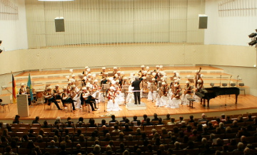 Атырауский оркестр народных инструментов побывал на гастролях в Турции, Австрии и Германии