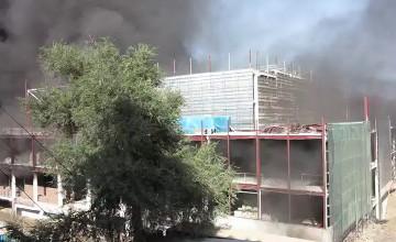 СК «Евразия» выплатила 164 млн. тенге за пожар в ТРЦ «MEGA» в Алматы