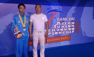 Казахстанский таеквондист завоевал «серебро» на Чемпионате мира среди юниоров