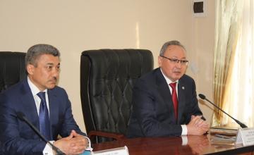 Бектас Бекназаров провел личное собеседование с судьями ВКО
