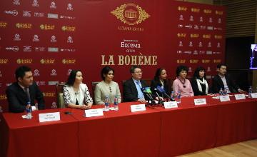 В «Астана Опера» 11 апреля состоится премьера оперы Дж.Пуччини «Богема»