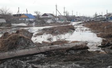 ШҰҒЫЛ: Атбасар қаласында су тасқыны орын алып, 50 үй суда қалды