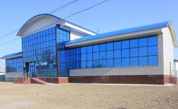 В Абайском районе ВКО за счет сельского предпринимателя построен двухэтажный спорткомплекс