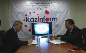 «Казинформ» подписал соглашение о сотрудничестве с информационным агентством Италии