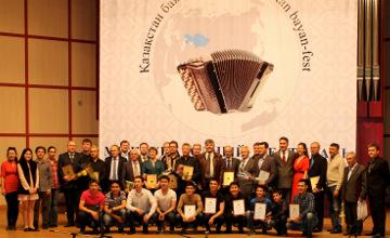 Татарская школа искусств из Семея презентована на международном фестивале баянистов