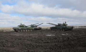 В ВКО завершились республиканские соревнования по танковому биатлону