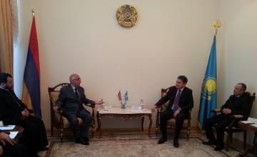 Вопросы сотрудничества Восточного Казахстана и Армении обсудили на встрече в Усть-Каменогорске