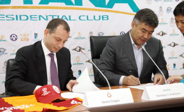 Galatasaray, Astana sports clubs plan to step up cooperation