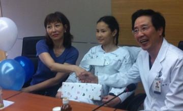 Девочку из Риддера с патологией позвоночника прооперировали в Южной Корее