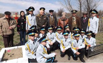 В Семее почтили память ветеранов Великой Отечественной войны