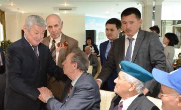 Мы в большом долгу перед ветеранами - Б.Сапарбаев