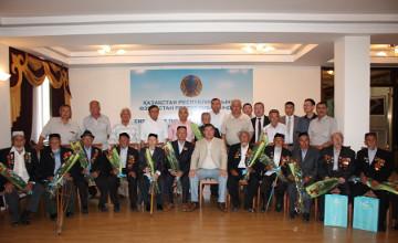 Посол РК в Узбекистане поздравил ветеранов с Днем Победы