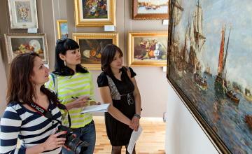 Алматыда бастапқы құны 45 мың доллар болатын картиналар бәссаудаға шығарылады