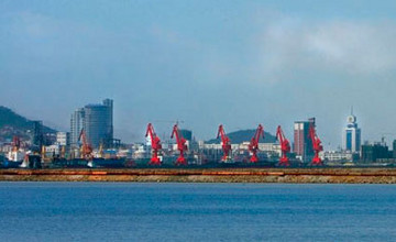 Construction of Kazakhstan terminal in Lianyungang port launched