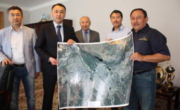 Фото Актобе из космоса вручили акиму области