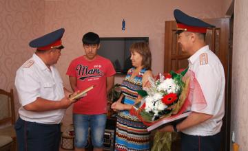 Oralda 534 batysqazaqstandyq polıtseı marapattaldy (FOTO)