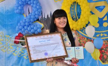 Олимпиада чемпионы Майя Манеза Қыздар университетін тәмамдап, қолына диплом алды - ФОТО