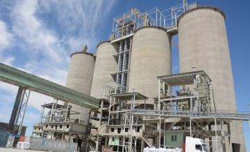 В Мангыстауской области запущен завод «Каспий Цемент» мощностью 1 млн. тонн цемента в год