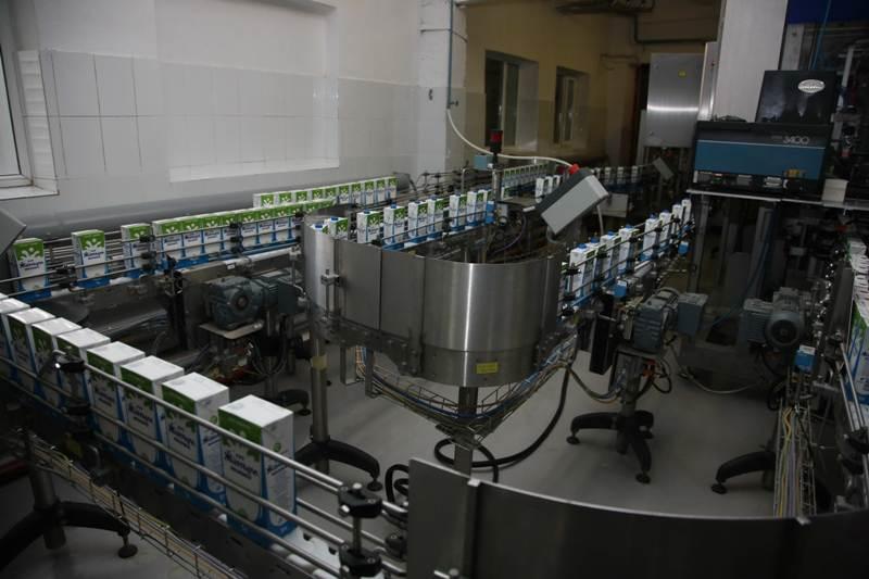 新乳制品加工厂在阿斯塔纳投产(组图)