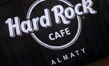 В Алматы откроют первое в Центральной Азии Hard Rock Cafe