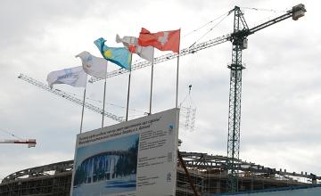 Huge Barys Arena under construction in Astana (PHOTOS)