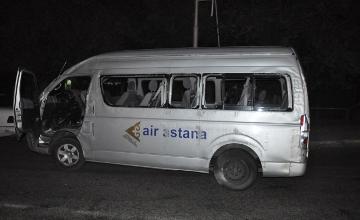 «Эйр Астана» әуе компаниясының ұшқыштары көлік апатына ұшырады