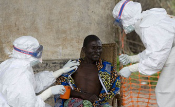 世卫组织:埃博拉感染者已接近1.6万人 塞拉利昂疫情严峻
