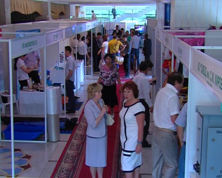 彼得罗巴甫尔举办优质产品展览会