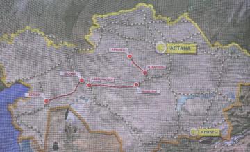 Сокращая расстояния: Казахстан запустил крупный железнодорожный проект - ФОТОРЕПОРТАЖ