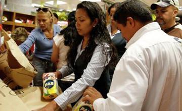 Венесуэлада дүкендер тәулігіне 4 сағат қана жұмыс істейді