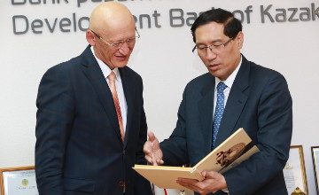 Kazakh and Chinese development banks debated coop in non-energy sectors