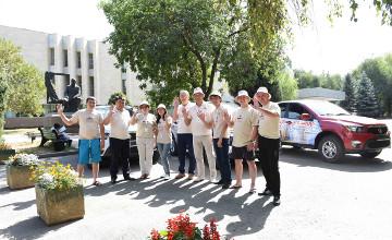 «Ұлттық мұра» автошеруі Алматыдан оңтүстік өңірлерге аттанды (ФОТО)