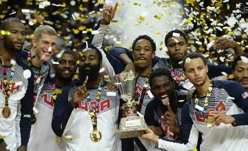 男篮世界杯:美国屠塞尔维亚夺冠 厄文轰26+4当选MVP