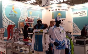 Казахстанский текстиль представлен на 43-й Федеральной оптовой ярмарке в Москве (ФОТО)