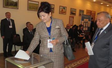 В Актюбинской области лидирует кандидат в депутаты Сената Марат Тагимов