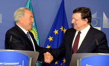 纳扎尔巴耶夫:欧盟将为哈萨克斯坦步入全球最发达30国家行列助一臂之力